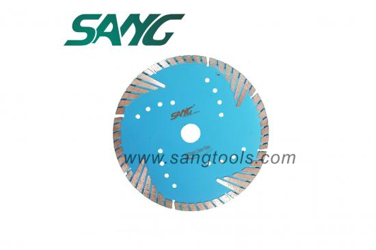 Granite & Marble Segmented Turbo Teeth Diamond Blade for Cutting Granite, Marble, Stone, Pavers, Concrete, Brick, Block, Stone, Tile and Masonry Materials.