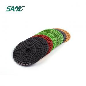 Support arrière en caoutchouc de 4 pouces pour tampons de polissage