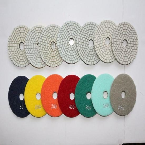 diamond polishing disc how its work, phoenix concret polishing pad for sale, white buffing pad